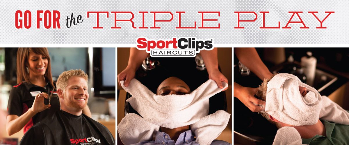 The Sport Clips Haircuts of Harrisonburg  Triple Play
